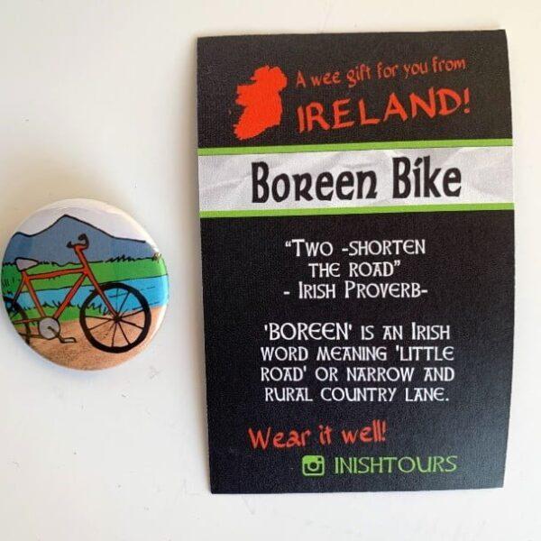 Boreen Bike - Badge