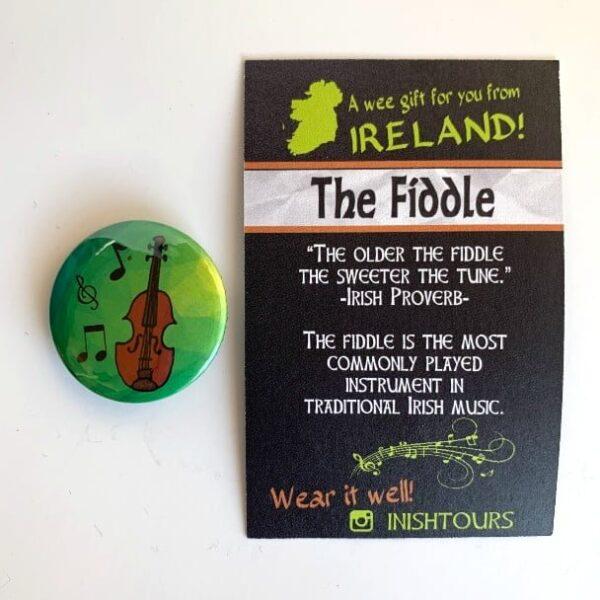 Fiddle Badge